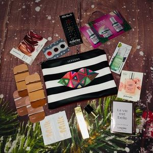 Sephora Makeup Bag , Samples and New Trial Sizes